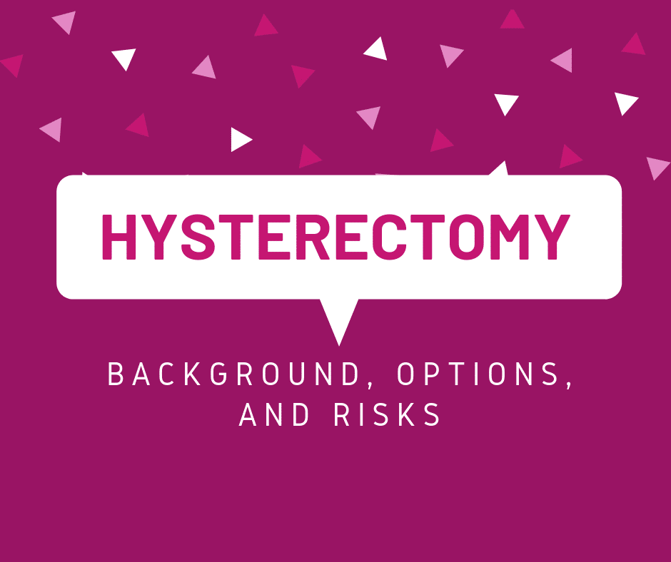 Hysterectomy Nwhn