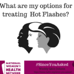 What are my options for treating hot flashes?