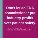 An Open Letter to FDA's New Commissioner